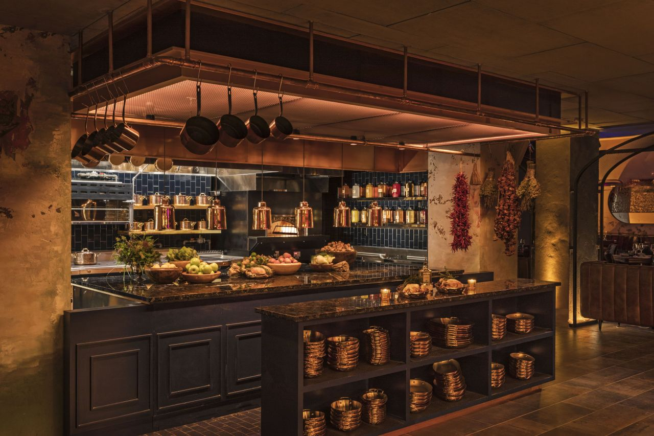 Cathedrale Open Kitchen